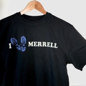 Merrell I 🧡 Merrell Graphic Cotton Black T-Shirt